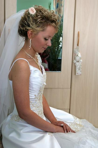 свадебные прически алена спб